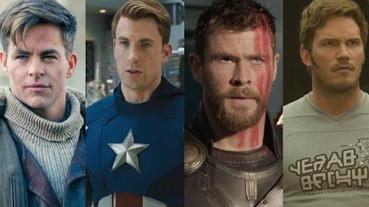 好萊塢 4 大 Chris!克里斯漢斯沃驕傲「我和他們全都有關係,克里斯潘恩還是我兒子」!