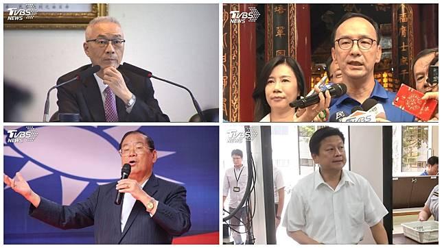 藍營內部看好明年立委席次有望過半,這幾位也被點名替黨內角逐立法院長。(合成圖/TVBS)