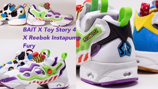REEBOK X《玩具總動員4》聯名球鞋!還原度直逼100