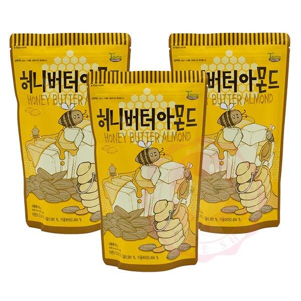 韓國 Toms Gilim 蜂蜜奶油杏仁果 杏仁 堅果 核桃 腰果 進口零食(210g)【庫奇小舖】。人氣店家庫奇小舖的熱搜吃貨區、【小吃∣零嘴∣飲品】有最棒的商品。快到日本NO.1的Rakuten樂