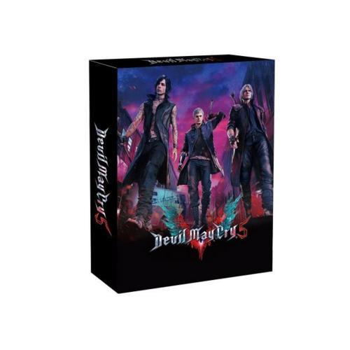 [現貨] PS4 惡魔獵人 5 鐵盒珍藏版 中文版 含鐵盒+明信片+特典DLC