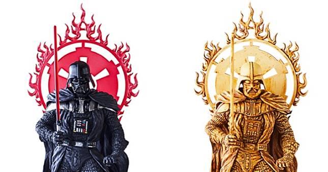 《星際大戰》黑武士化身佛像,這尊必須供起來🙏