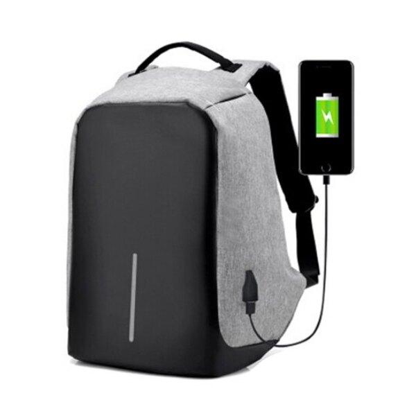 後背包 防盜雙肩背包 可USB充電 防水 隱藏拉鍊 防盜後背包 運動背包 雙肩包韓版學生書包
