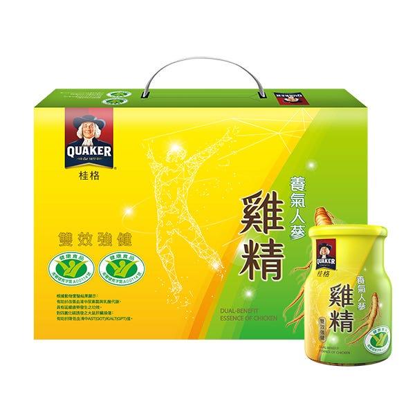 桂格養氣人蔘雞精禮盒3盒組68mlX8瓶X3盒
