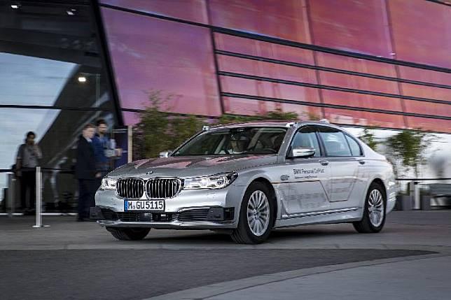 Ilustrasi BMW seri7 Autonomous.(autoevolution.com)