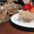 ストロベリーケーキ - 実際訪問したユーザーが直接撮影して投稿した新宿カフェハーブス ルミネエスト新宿店の写真のメニュー情報