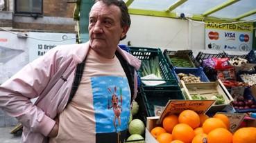 Supreme 效應延燒 倫敦專門店旁賣水果的阿伯也很潮爆紅!