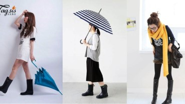 「下雨不怕,下雪也不怕」夏天必備潮流時尚雨靴單品~不怕雙腳濕濕了~