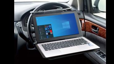 架上方向盤筆電架車內就是你的個人工作室