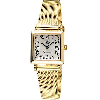 原廠公司貨、生活防水3BAR璀璨鋯石錶框、精緻小巧錶面錶背細膩玫瑰Logo雕花TNs011-YW-MT4