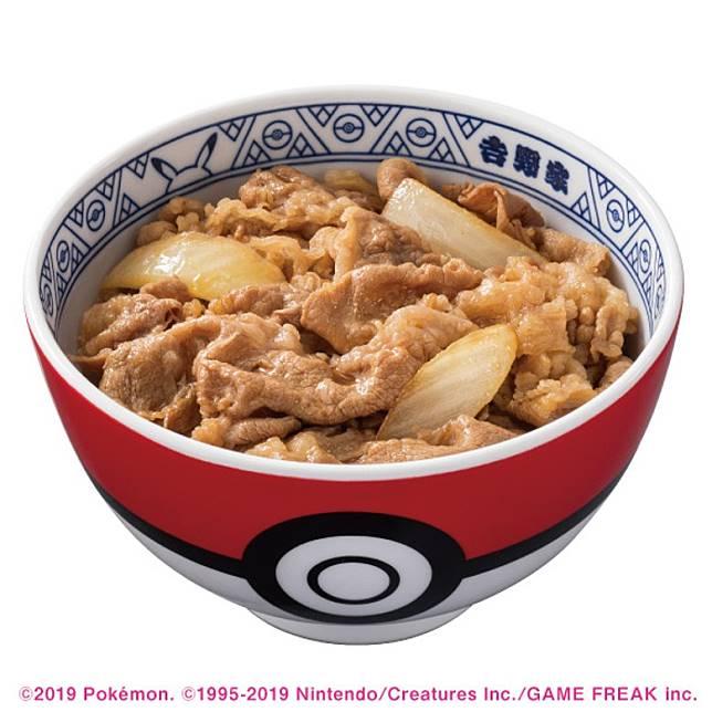 Poke盛所使用的飯碗Donburi,外觀使用了精靈球作圖案,好搶眼!(互聯網)