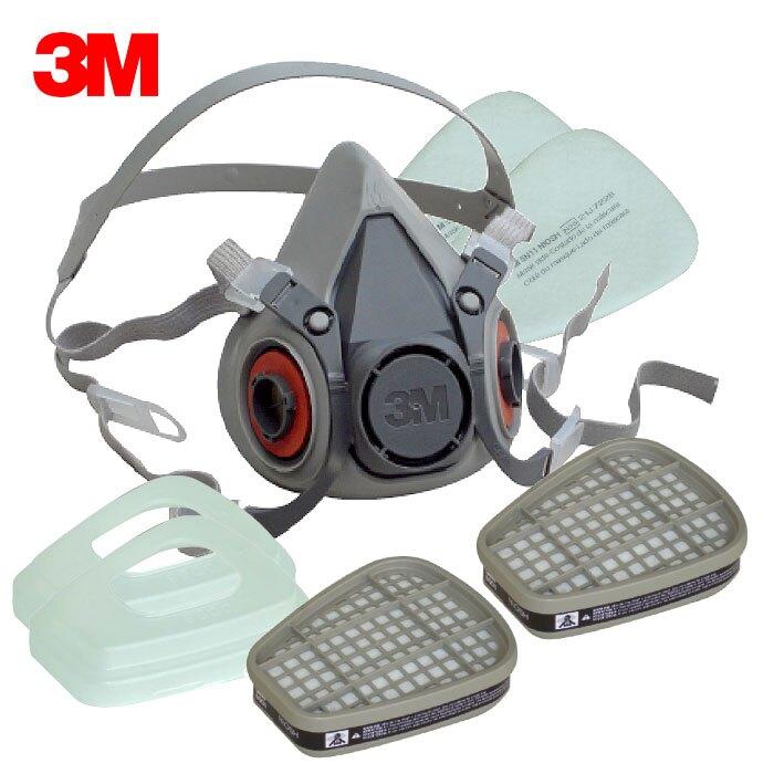 3M 6200 防毒口罩