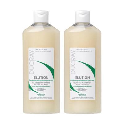 DUCRAY護蕾控油舒敏洗髮精基礎型二入組(200ml)