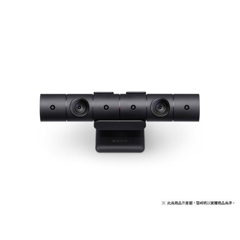 現貨中 SONY原廠 PS4 專用 PS Camera 新款 視訊攝影機PlayStation Camera 新款視訊攝影機完整繼承現行發售款式的功能。攝影機外型為圓柱型設計,同捆的攝影機支撐架也搭配