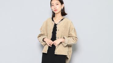 日本女子最愛穿的單品之一!日系「燈芯絨外套」混搭呈現迷人魅力