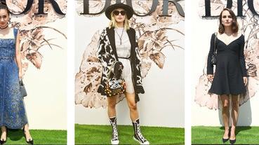 Dior高訂秀現場「火藥味」濃,影后&名人尬時尚品味