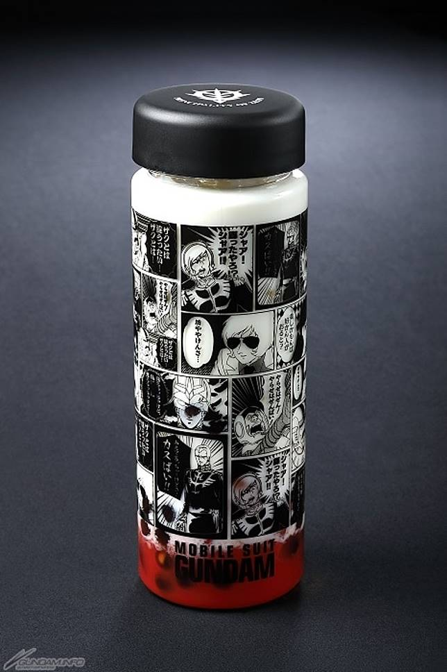 在透明樽印上「博多腔 Ver.」的幸運牛奶咖啡。售價:1,320日圓(約HK$95)(互聯網)