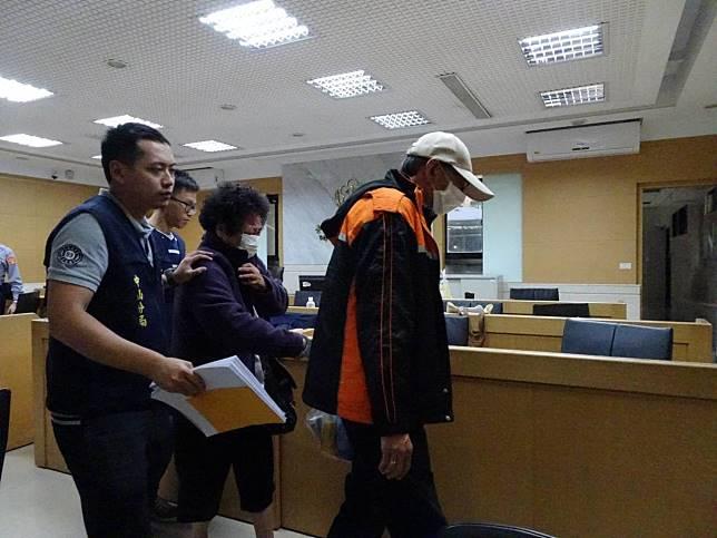 69歲曾姓女計程車司機撞傷游泳教練,遭依過失傷害罪嫌移送北檢。記者賴佩璇/攝影。