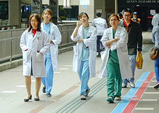 蔣麗芸認為,認為微調方案難以吸引海外醫生。資料圖片