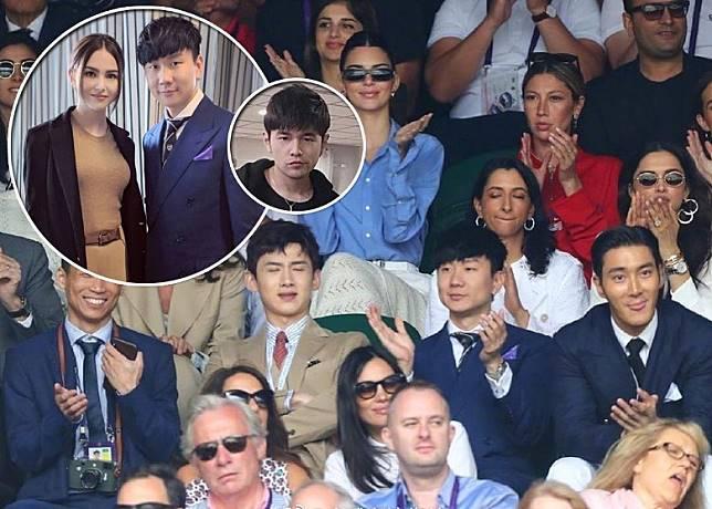 林俊傑與昆凌被邀出席欣賞溫布頓網球公開賽,周杰偷託付好友,代為照顧太太昆凌。