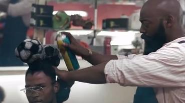 【變髮特輯】還有這樣的髮型 ! 黑人設計師創意足球主題髮型 XD