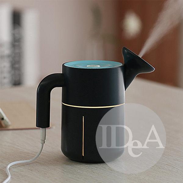 IDEA 茶杯造形加濕器 靜音 USB 辦公 居家 LED夜燈 空氣清淨機 水氧機 小型家電 迷你 負離子