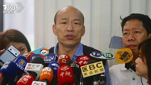 高雄市長韓國瑜。圖/TVBS