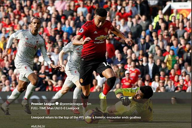 5 Fakta Man United Vs Liverpool, Catatan Unik Pergantian Pemain
