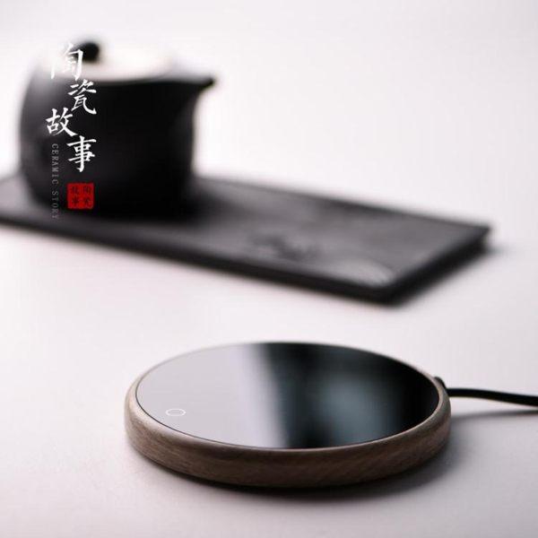 恒溫加熱杯墊保溫底座熱牛奶辦公宿舍usb可調暖茶壺水杯小神器