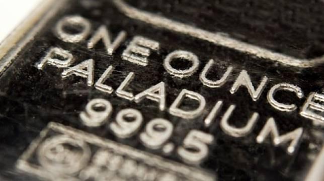 Ilustrasi logam mulia paladium. [Shutterstock]