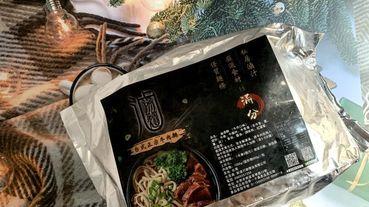 【宅配 滷湯麵】是從餐廳端來的嗎? 一碗在家裡就可以開動的牛肉麵。