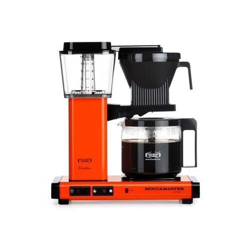 金時代書香咖啡 Technivorm Moccamaster 美式咖啡機濾泡式咖啡機 KBGC741OR 活力橘 (歡迎加入Line@ID@kto2932e詢問)。水與飲料人氣店家金時代書香咖啡的咖啡