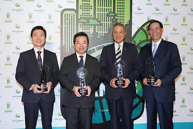 20190525中國信託金控連續四年獲「亞洲企業社會責任獎」肯定新聞照一