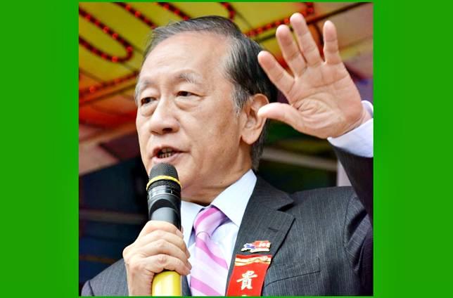 前新黨主席郁慕明。( 圖 / 翻攝郁慕明臉書 )