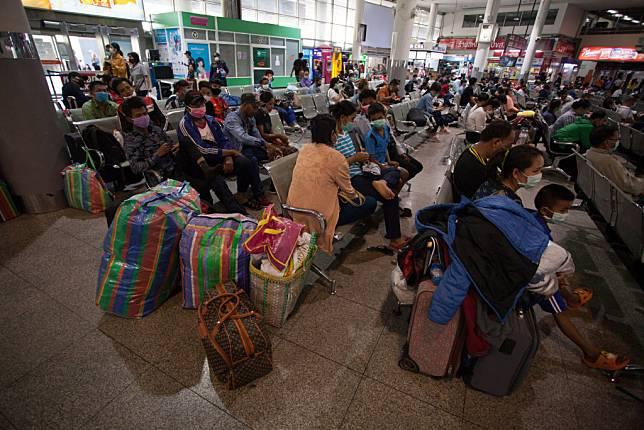 Coronavirus fears in Bangkok, Thailand