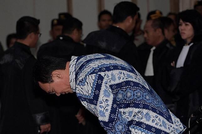 Former Jakarta governor Basuki