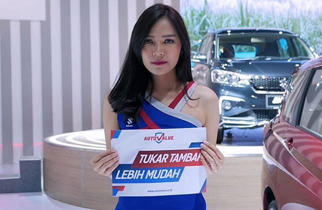 Auto Value hadir di booth Suzuki GIIAS 2019 untuk mempermudah proses tukar tambah mobil baru selama pameran berlangsung.