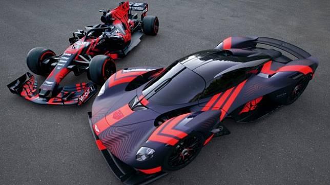 Aston Martin Valkyrie. (autoevolution.com)