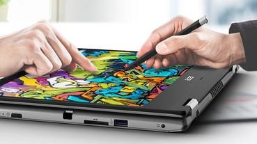 宏碁推出升級版Acer Spin 3時尚可翻轉筆電