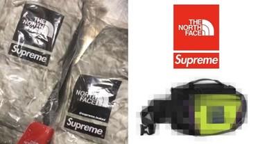 疑是 Supreme x TNF 最新聯名系列腰包?但怎麼感覺有點樸素⋯⋯