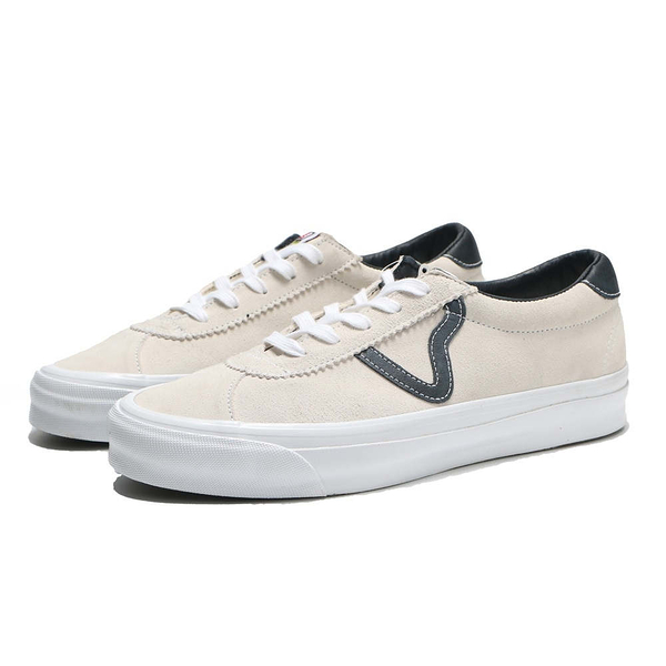 VANS 休閒鞋 板鞋 VAULT OG EPOCH LX 米黑 麂皮 經典款 男女 (布魯克林) VN0A4U124XD