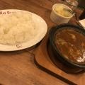 牛すじ煮込カレー - 実際訪問したユーザーが直接撮影して投稿した西新宿カレーHot spoon 西新宿店の写真のメニュー情報