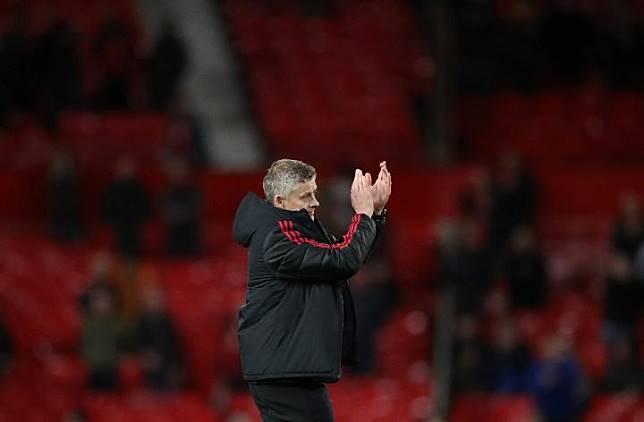 Pelatih Manchester United Ole Gunnar Solskjaer. Reuters/Carl Recine