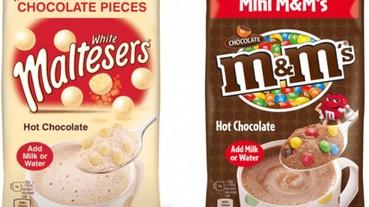 溫暖你的冬天-M&M's、麥提莎推熱飲 「吃」的到巧克力