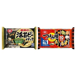 亀田 海苔ピーパック/つまみ種