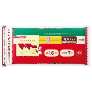 〈日清フーズ〉マ・マー 密封チャック付結束スパゲティ(1.4mm・1.6mm) 600g