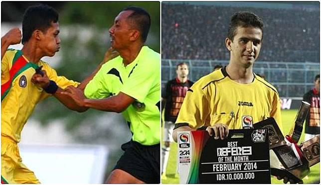 Jadi Profesi Paling Berbahaya, Beginilah Enaknya Jadi Wasit Sepak Bola Indonesia