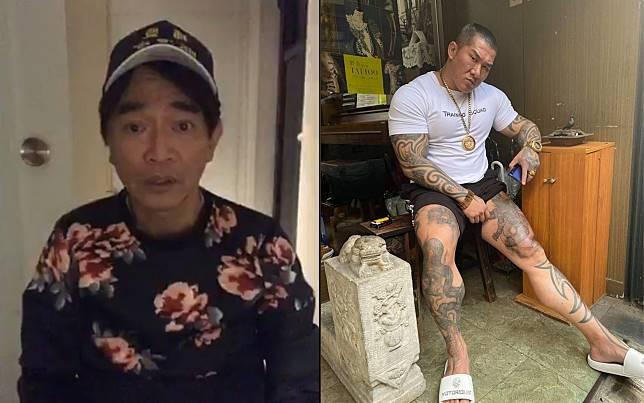 ▲吳宗憲(左)開直播回嗆館長(右)。(圖/翻攝臉書)