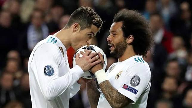 Dikabarkan Akan Susul Ronaldo, Marcelo Disebut '100 Persen' Real Madrid