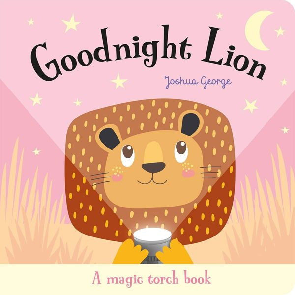 A Magic Torch Books:Goodnight Lion 獅子說晚安趣味膠片書